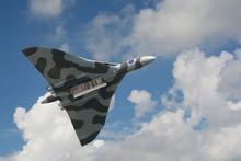 Avro Vulcan Bomber On Its Last...