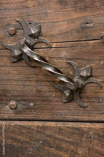 Fotografie, Obraz  Poignée de porte