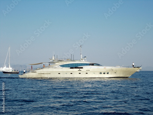 Garden Poster Water Motor sports super yacht