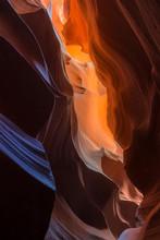 Beautiful Texture Of Antelope Canyon