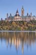 Canada, Ontario, Ottowa, capital of Canada, Canadian Parliament Building, autumn, dusk