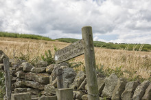 Centenary Path Signpost