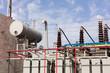 high voltage oil transformer