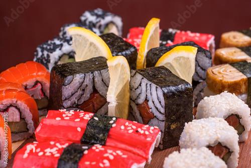Fotografie, Obraz sushi_57