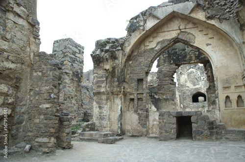Photo  Golconda Fort Hyderabad India