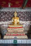 Golden buddha statue in Wat Sutat