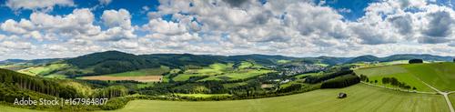 Foto op Plexiglas Panoramafoto s Luftpanorama Sauerland