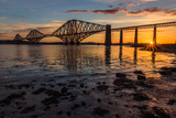 Forth Bridge at Sunrise