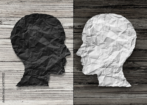 Fototapeta Bipolar Mental Health