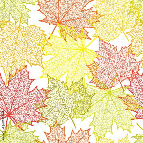 bezszwowe-tlo-jesien-i-liscie