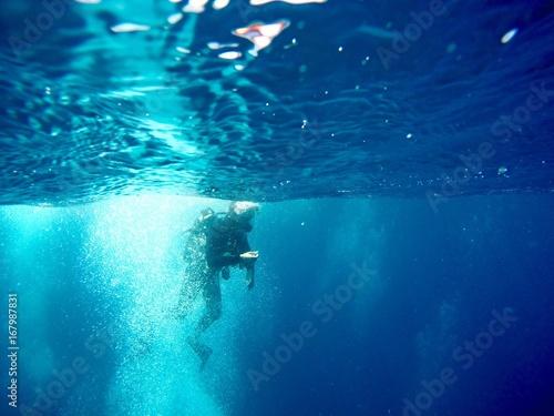 Obraz na dibondzie (fotoboard) Podwodny