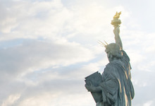 Statue Of Liberty In Paris, France
