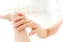 Woman Hand Care