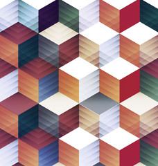 Fototapeta abstract geometric background.