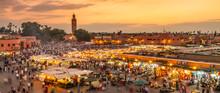 Jamaa El Fna Market Square, Ma...