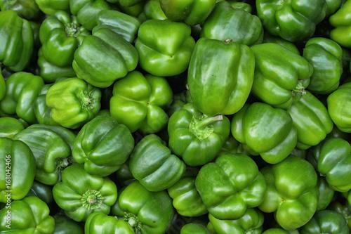 Fotomural green bell peppers