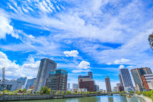 大阪 キタ 都市風景