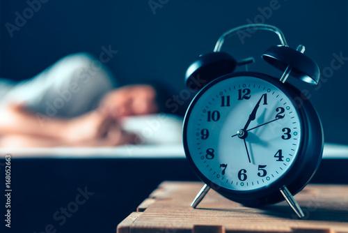 Plakat Zaburzenia snu lub bezsenność