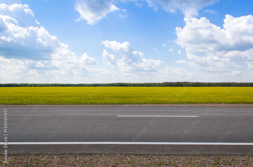 Fototapety, obrazy: Outdoor road