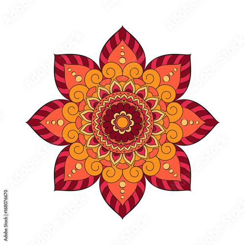 Photo  Flower Mandalas