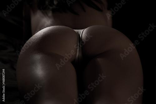 Fotobehang Ezel Butt of sexy hot girl