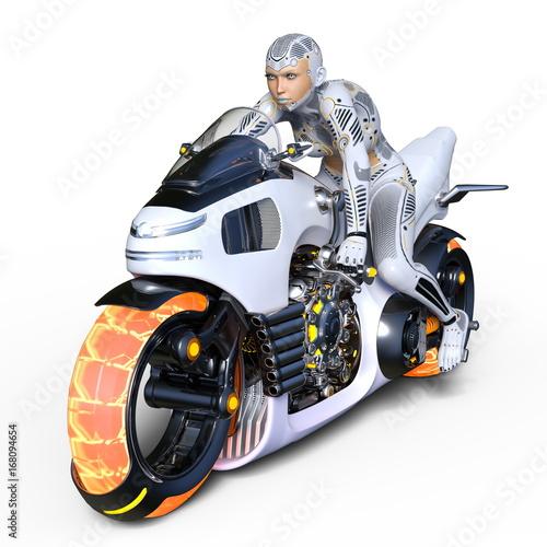 Aluminium Prints F1 スーパーウーマンライダー