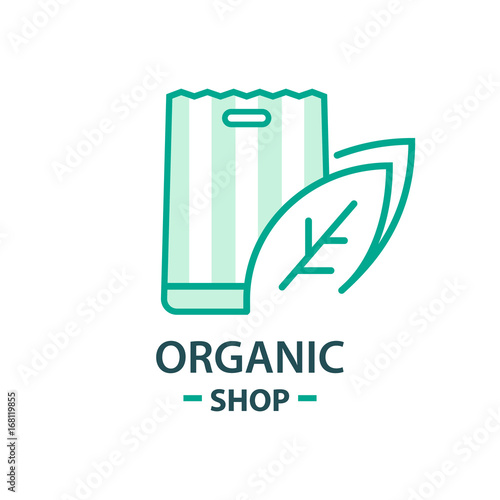 Healthy Organic Eco Vegetarian Food Logo Design Vector Template Ecology Health Eco Organic Logo Fresh From Farm Vegetables Buy This Stock Vector And Explore Similar Vectors At Adobe Stock Adobe Stock