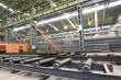 Steel plant shop