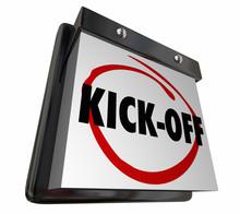 Kick-Off Calendar Day Date Beg...