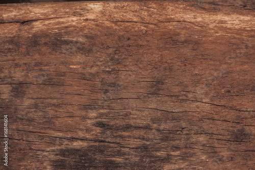 Poster Retro Raw wood, wooden slatted fence or lath wall background.