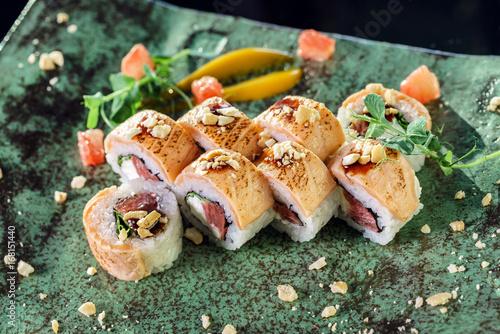 Fotomural  Sushi de fusión