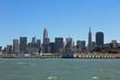 Skyline of San Francisco. California. USA