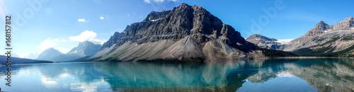 Foto op Plexiglas Blauw Bow Lake, Bow Glacier, Canada