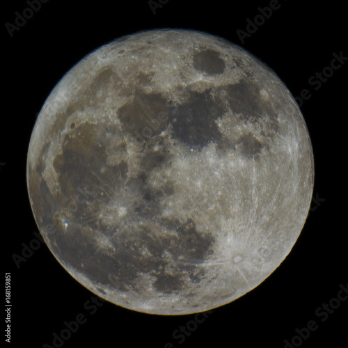 Recess Fitting Natuur Full moon