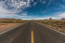View Of Monument Valley, Utah
