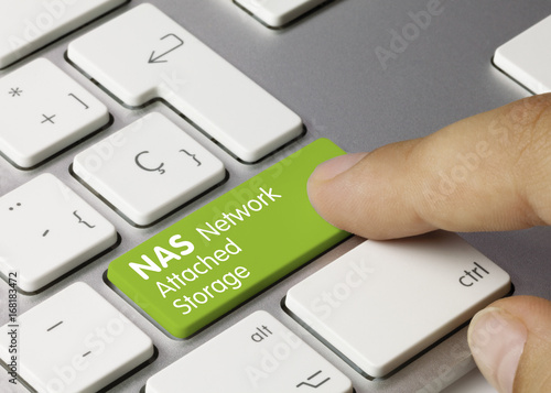 NAS Network Attached Storage Canvas Print