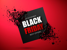 Black Friday Sale Abstract Bac...