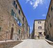 Toskana-Impressionen, Volterra im Chianti-Gebiet (Altstadtansicht)