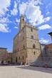 Toskana-Panorama, Volterra im Chianti-Gebiet (Palazzo dei Priori)
