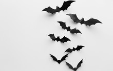 Halloween Decoration Of Bats O...