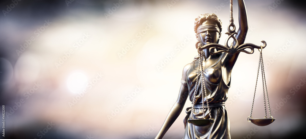 Fototapety, obrazy: Statue Of Lady Justice