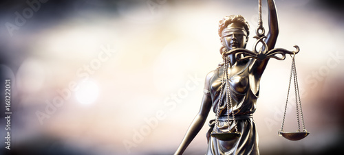 Fotografering  Statue Of Lady Justice