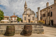 das malerische Dorf Svetvincenat in Istrien, Kroatien