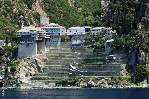Fotografie, Obraz  Athos peninsula, Greece