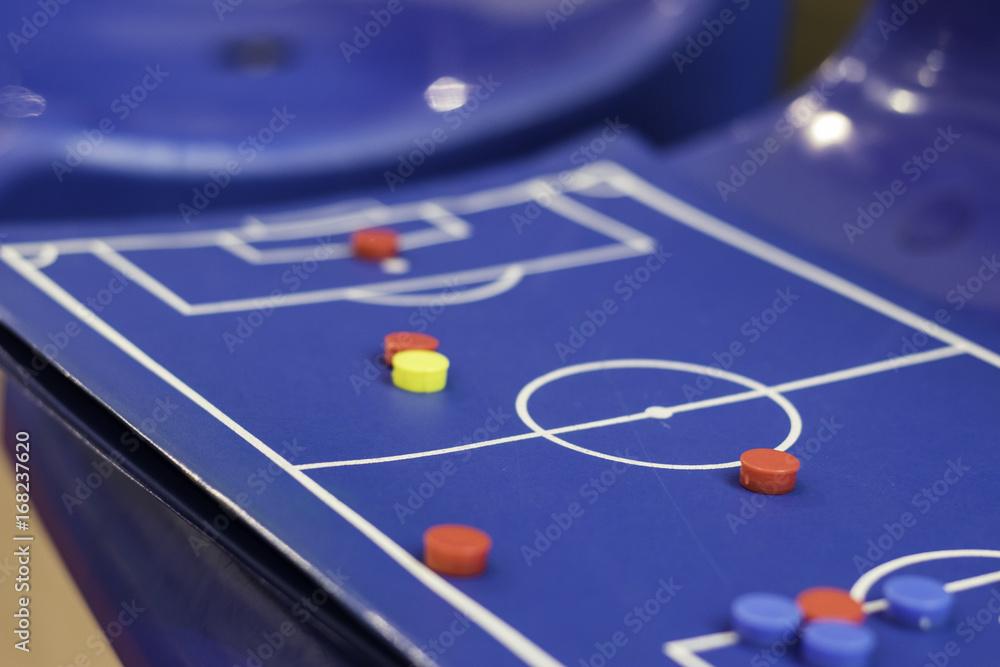 Fototapeta soccer tactics