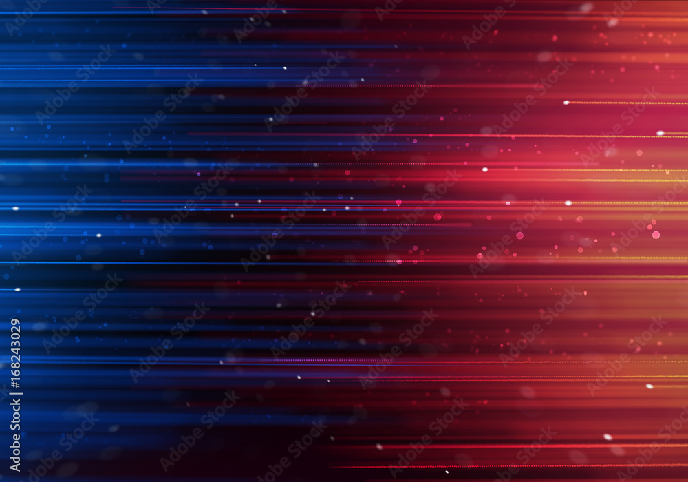 Fototapety, obrazy: Glamour luxury background with colorful rays