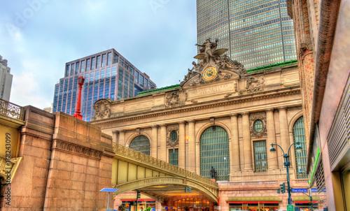 Grand Central Terminal in Manhattan, New York City Canvas Print