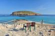 Cala Comte beach on Ibiza