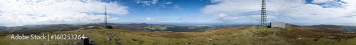 A top Snaefell Panorama Wallpaper Mural
