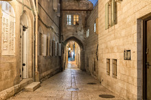 Jerusalem Old City Alley - The...